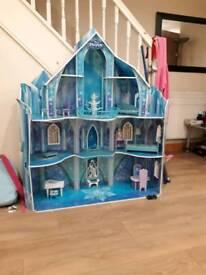 Children's frozen castle