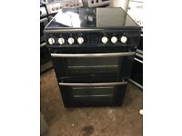 Belling E664 60cm Double Electric Cooker in Black #3618