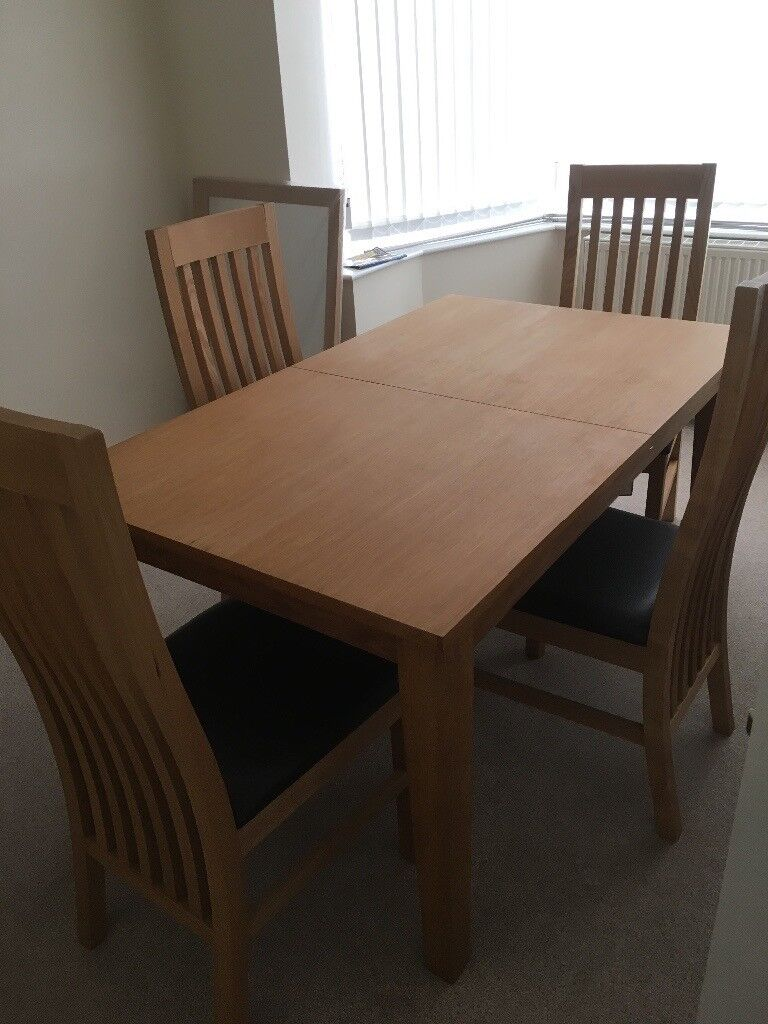 Next Dining Table And 4 Chairs