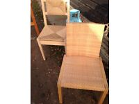 Two Ikea chairs