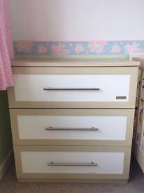 Mamas and Papas Murano Bedroom Set - Good Condition