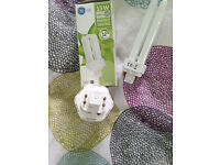 3 eco light bulbs, G2q-1 fitting