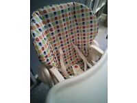 Chicco Polly highchair Fishponds