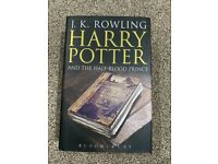 Harry Potter and The Half-Blood Prince Owls Misprint 1st Edition Adult Cover