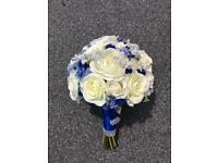 Gorgeous blue bouquet