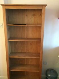 Solid pine Bookcase well made and in great condition