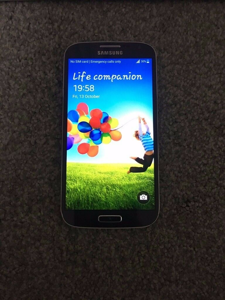 SAMSUNG S4 GT-I9505 FACTORY UNLOCKED- 16GB-BARGAIN-