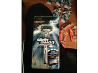 Gillette mach3 turbo razor blade Brand new sealed pack