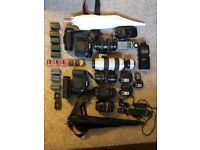 Huge canon photography kit