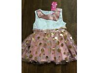 Girls dress 12-18 new with tags
