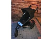 Mountain buggy urban elite - black (made in New Zealand)