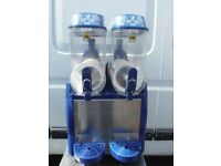 Electro Freeze Twin 12 litre fast freeze slush machine with digital dispaly. Slushie puppy, granita.