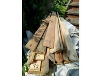Recycled planks