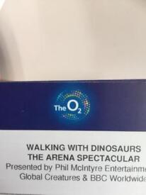 Walking with dinosaurs live anamatronics
