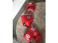 Winning sparring boxing set