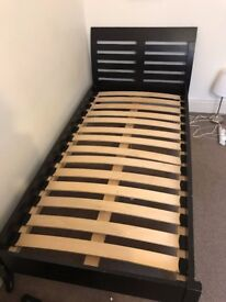 Solid Wood Single Bed (Single)