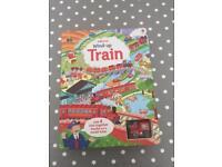 Usborne wind up train book