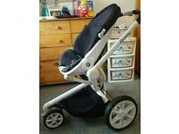 Quinny Moodd Pushchair in Black Irony