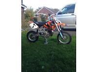 Ktm 65, motocross bike.