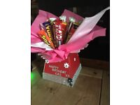Chocolate Bouquet birthday gift personalised beautiful birthday