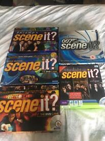 Selection of Scene It Games