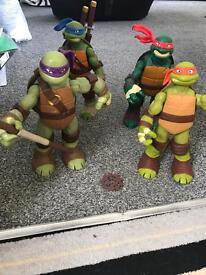 Big ninja turtles figures