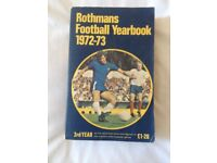 Used, Collectible Rothmans Football Yearbook 1972-73, Peter Osgood front cover for sale  Datchet, Berkshire