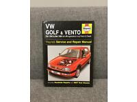 Rare VW GOLF HAYNES MANUAL HB BOOK Car Gti engine SDHC