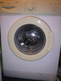 beko washing machine A++ 1000 spin in excellent condition £60 or nearest offer may deliver locally