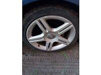 Audi s line wheels 17 inch 4 alloys 22/45/17,a4,