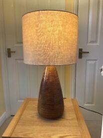 Large House of Fraser lamp