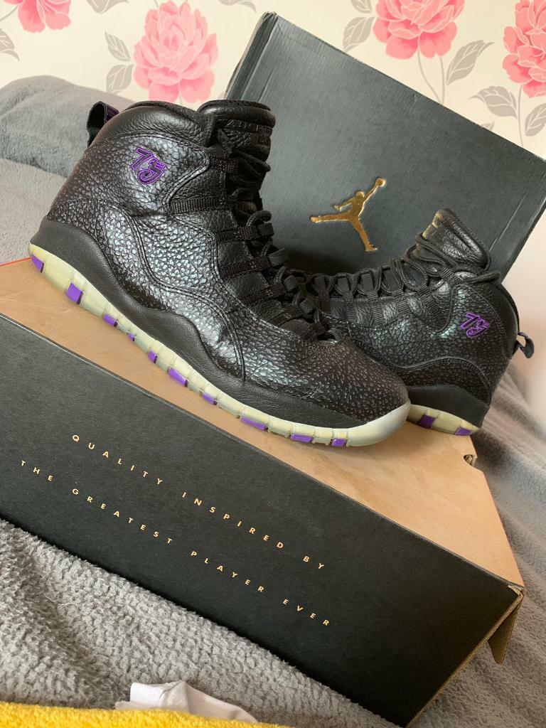 Nike Air Jordan 10 Paris UK 10 | in Alfreton, Derbyshire | Gumtree