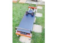 Nordic plate exercise yoga table