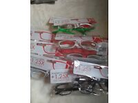 pk 10 reading glasses , ideal for car boots, markets, 1.25x , 2.0 x , 2.5 x , 3.0 x and 3.5