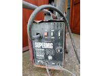 SEALEY POWER SUPERMIG 140 WELDER 240V WITH BOTTLE AND EXTRAS