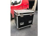Flightcase on wheels