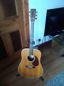 Used All Solid Wood Martin Sigma SDR – 28H Guitar