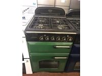 55CM GREEN LEISURE GAS COOKER