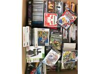 Large Box Full of Games (Master System)