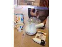 Hot chocolate maker mug and jug marks and spencer