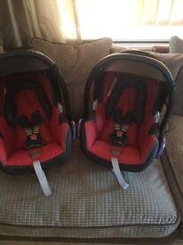 Maxi cosi group 0 newborn car seats will sell separate