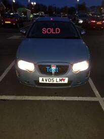 SOLD Rover 75 No time waisters