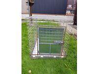 Professionally made large dog cage