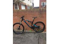 Kona precept 150 full suspension mountain bike