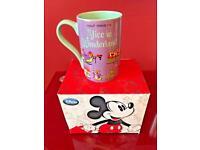 Brand New Disney Alice In Wonderland 16oz Mug.