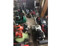 Petrol lawnmower repairs and sales