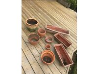 Terracotta Pots and Troughs