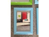 7 photo frames various sizes