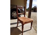 Beautiful set of 4 dining chairs