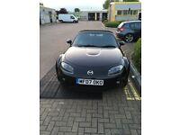 2007 Mazda MX-5 NC Sport 2.0 MK.3 Option Pack LSD - Black Convertible Roadster Sports Car MX5 MR2